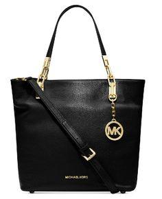 b400bb4cb13cb9 MICHAEL Michael Kors Brooke Medium Shoulder Tote in Black  #michaelkorssilverpurse Only Fashion, Cheap Fashion