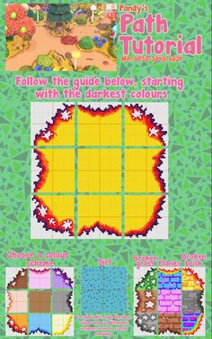 Dark Colors, Colours, Animal Crossing Guide, Path Design, Pixel Art, Overlays, Custom Design, Kids Rugs, Artsy