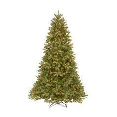 7.5 ft. Feel-Real Downswept Douglas Fir Artificial Christmas Tree with 750 Clear Lights PEDD4-312-75 at The Home Depot - Mobile
