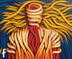 Carlo Petrini olio su tela - artista contemporaneo nuova figurazione