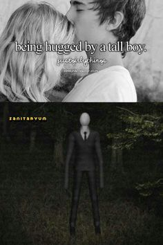 AWESOMESAUCE!! NOW WHENEVER I HUG A TALL DUDE IM GONNA THINK OF SLENDERMAN YAY!!!! XD
