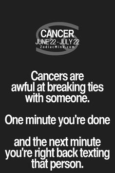 Astrology cancer hookup cancers that cause back