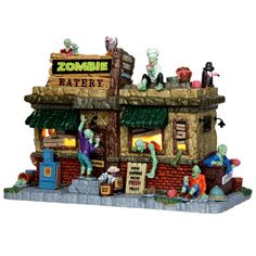 Spooky Town Collection Zombie Eatery