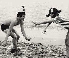 Albert Finney and Audrey Hepburn