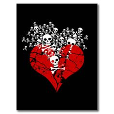 >>>Low Price Guarantee          Broken Heart with Skulls Post Card           Broken Heart with Skulls Post Card lowest price for you. In addition you can compare price with another store and read helpful reviews. BuyThis Deals          Broken Heart with Skulls Post Card lowest price Fast Sh...Cleck Hot Deals >>> http://www.zazzle.com/broken_heart_with_skulls_post_card-239529007127957523?rf=238627982471231924&zbar=1&tc=terrest