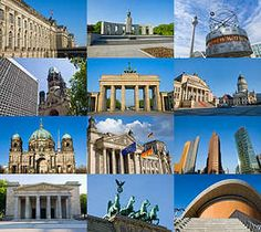 Wichtige Sehenswürdigkeiten in Berlin auf einem Blick