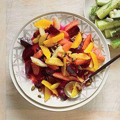Beet-Citrus Salad with Pistachios   MyRecipes.com