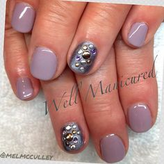 Love the metallic gel color #MidnightCaller by #Gelish! Fall is just right around the corner!!! #wellmanicured #nails #nailart #naildesigns #customdesigns #manhattanbeach #southbay #studs #nailharmony #nailedit #nailpics #nailswag #nails2inspire #nailsalon #bestnailsinthesouthbay #instanail #intheheartofthesouthbay #jewels #rhinestones #lilac #like #nailartist #nailstagram #manicure#manicureaddict#artist#art #Padgram