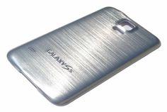 Face arrière alu brossé pour Galaxy S5 - Coques en Folie