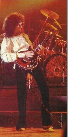 Mr Dr Brian May 1977
