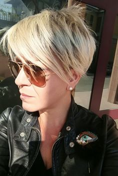 Best Short Hair for Fine Straight Hair Cute Hairstyles For Short Hair, Short Hair Cuts For Women, Bob Hairstyles, Straight Hairstyles, Short Hair Styles, School Hairstyles, Everyday Hairstyles, Fringe Hairstyles, Updo Hairstyle