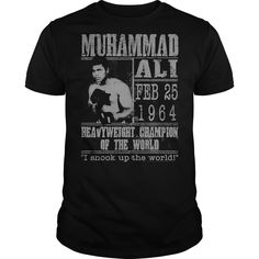 View images & photos of Muhammad Ali Poster t-shirts & hoodies