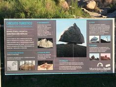 Discover La Piedra Movediza (Shifting Stone) in Tandil, Argentina: A replica of a beloved, delicately-balanced granite boulder. Information Center, Tourist Information, Southern Cone, Rock Formations, Bouldering, Geology, The Rock, South America, 19th Century