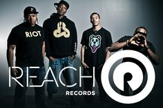 From left to right there is tedashii, Lecrae, trip lee, and Sho Baraka