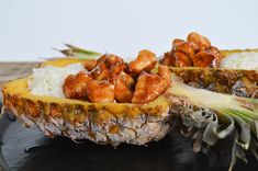 Recipe: Sticky Pineapple Chicken and Rice - Arizona Foodie Pinapple Chicken Recipes, Bbq Pineapple Chicken, Chicken Rice, A Food, Healthy Recipes, Healthy Foods, Arizona, Dishes, Fruit