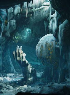 Frozen Throne Room by Ronan Mahon