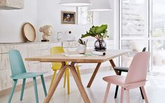 #escandinavian #pastell #furniture #chair #table