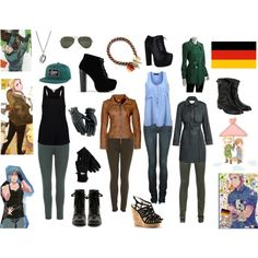 """""""Casual Cosplay - germany - hetalia"""" by casual-cosplay on Polyvore"""