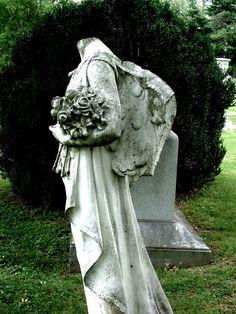 Headless but still magnificent.  Mt Olivet Cemetery Nashville TN
