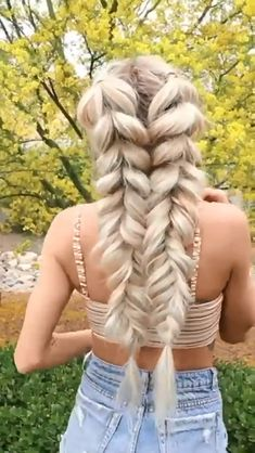 Pretty Braided Hairstyles, Easy Hairstyles For Long Hair, Braids For Long Hair, School Hairstyles, Updo Hairstyle, Everyday Hairstyles, Short Hair Braids Tutorial, Wedding Hairstyles, Male Hairstyles