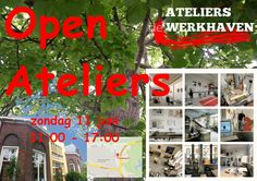 #ENSCHEDE #OpenAteliers #DeWerkhaven (naast Volkspark) zondag 11 juni -vanaf 11:00 uur! 