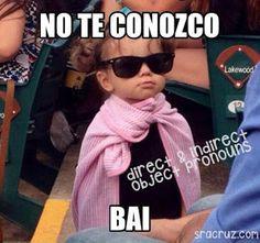 Señora Cruz: Using Memes for Verb Tenses