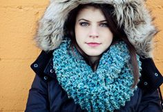 Cowl or Infinity Scarf  Aqua Teal by BglorifiedBoutique on Etsy,