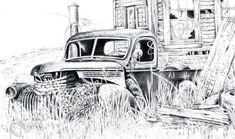 ideas vintage truck art chevy pickups for 2019 1946 Chevy Truck, Vintage Chevy Trucks, Chevy Trucks Older, Chevy Pickup Trucks, Chevy Pickups, Lifted Trucks, Old Trucks, Pickup Camper, Chevy Stepside