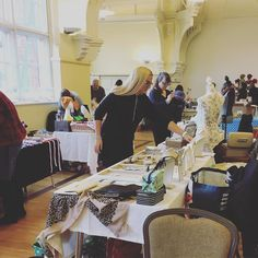 Some of our Artisan busy setting up their stall for the day! Leicester, Table Settings, Artisan, Christmas, Handmade, Crafts, Xmas, Hand Made, Manualidades
