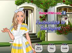 Przygotuj stylizację dla pięknej dziewczyny, która wybiera się na do swojego kolorowego ogrodu za domem. Postawisz na klasyczne kreacje?  http://www.ubieranki.eu/ubieranki/10353/pieknosc-na-ogrodku.html