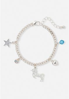 Shop Justice's new arrivals for girls' clothing in the latest styles! From on-trend graphic tees to school-approved dresses, browse our selection of tween girls' clothing & dresses. Best Friend Bracelets, Best Friend Jewelry, Girls Jewelry, Cute Jewelry, Fashion Necklace, Fashion Jewelry, Unicorn Coffee, Unicorn Fashion, Unicorn Jewelry