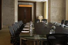 The Westin Guangzhou—Board Meeting Room- Hollow Square Set Up
