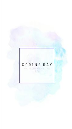 BTS pastel spring day wallpaper / background