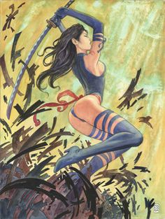 Uncanny X-Force Vol 1 35 Milo Manara (textless)
