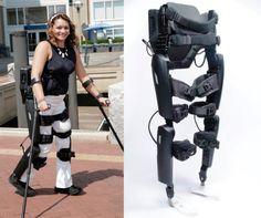 Personal 6.0 un exoesqueleto para que los parapléjicos puedan andar