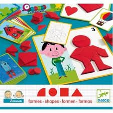 This Djeco Eduludo Shapes is a box full of shape puzzles for your child to complete. It's a little like Tangrams only for children aged years. Craft Activities For Kids, Crafts For Kids, Tangram, Anniversaire Harry Potter, Shape Puzzles, Simple Pictures, Creative Kids, Inspirational Gifts, Kids Learning