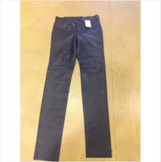 Undercover super skinny black leather pants leggings 3 U.S. 6-8
