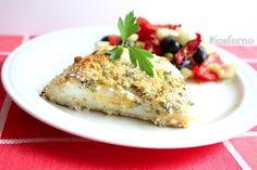 Il filetto di merluzzo gratinato al forno è un modo gustoso per preparare questo pesce: la gratinatura è croccante e saporita!