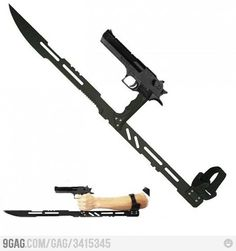 zombie fighting weapon!