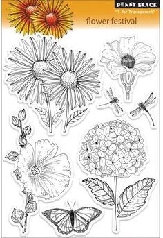 Flower Festival - Clear Stamps