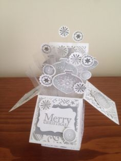 Christmas Card in a Box 2