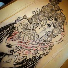 #tattooedgirls #girlswithtattoos #guyswithtattoos #tattoos #picoftheday…