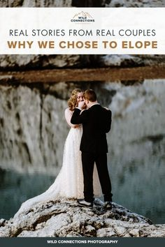 Why Do Couples Choose To Elope? | Wild Connections Photography Snow Wedding, Elope Wedding, Wedding Ceremony, Dream Wedding, Best Wedding Planner, Wedding Planning Tips, People Getting Married, Real Couples, Elopement Inspiration
