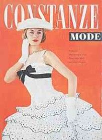 Magazines 1956 - Constanze Mode