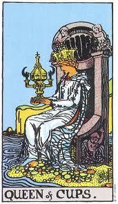 Queen of Cups Tarot Card Meanings - TarotWikipedia