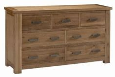 Bron Oak 3 + 4 Drawer Chest