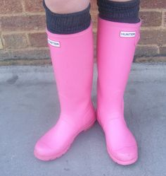 pink welly love