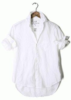 crunchy white shirt