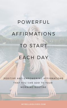 Positive and empowering affirmations that you can do daily and implement on your morning routine! It is to help you build confidence, increase love, and improve motivation. Confidence Building, Self Confidence, Self Development, Personal Development, Positive Mindset, Success Mindset, Positive Thoughts, Feeling Hopeless, Behavior Change