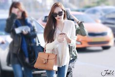 2015 snsd airport fashion winter fall girls generation Jessica Jung